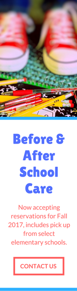 Before & After School Care, Fall 2017