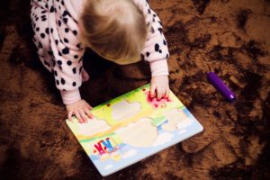 puzzles are a great learning tool for young children